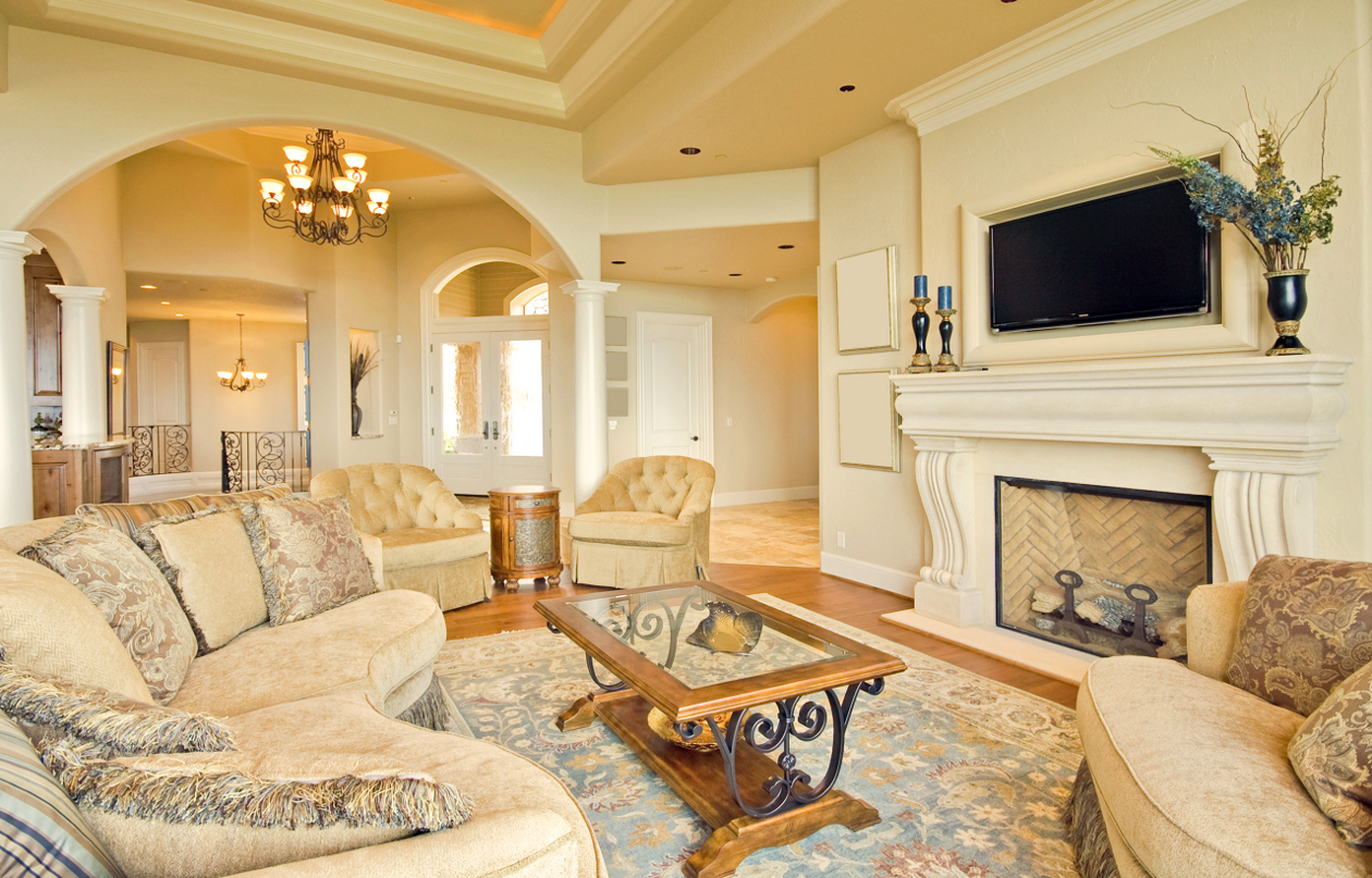 Three styles to decorate a living room